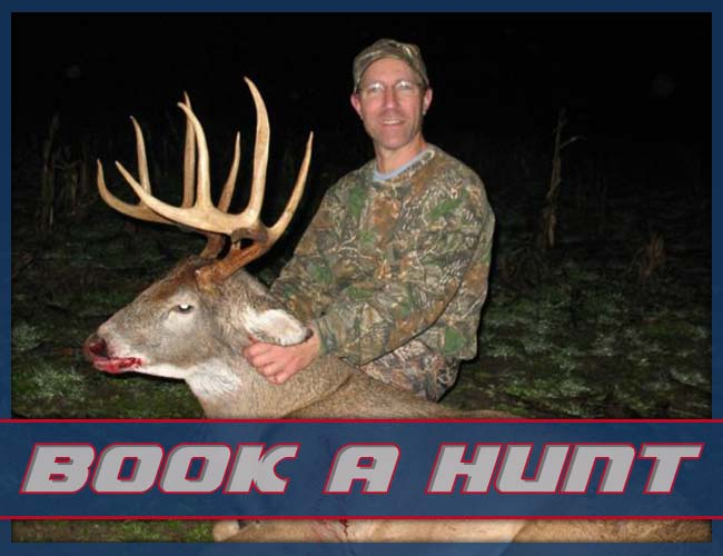 Book a Hunt with Slim's Knox County Whitetail's